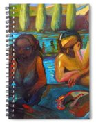 Pool Party Spiral Notebook