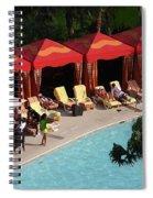 Pool Side Spiral Notebook