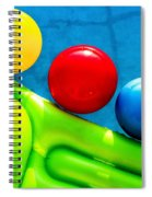 Pool Toys Spiral Notebook