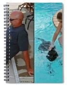 Poolside - Gently Cross Your Eyes And Focus On The Middle Image Spiral Notebook
