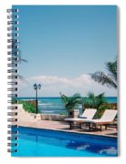 Poolside Spiral Notebook