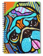 Pooped Pup Spiral Notebook
