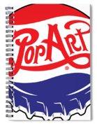 Pop Art Bottle Cap Spiral Notebook