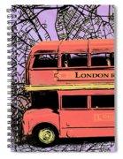 Pop Art Uk Spiral Notebook
