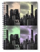Pop City Spiral Notebook