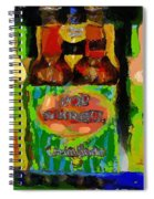 Pop Goes The Surrealism Spiral Notebook