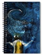 Pop The Champagne Top By Lisa Kaiser Spiral Notebook