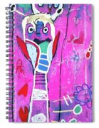 Pop Up Friend Spiral Notebook