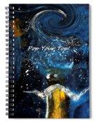 Pop Your Top By Lisa Kaiser Spiral Notebook