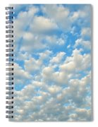 Popcorn Clouds Spiral Notebook
