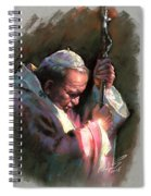 Pope John Paul II Spiral Notebook