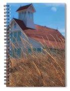 Popham Beach Life Saving Station Spiral Notebook