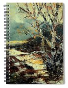 Poplars 45 Spiral Notebook