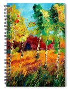 Poplars '459070 Spiral Notebook