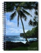 Poponi Ulaino Mokupupu Maui North Shore Hawaii Spiral Notebook
