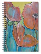 Poppies 3 Spiral Notebook