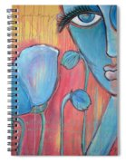 Poppies 7 Luna Let Me Go Spiral Notebook