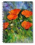Poppies 79 Spiral Notebook