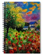 Poppies And Daisies 560110 Spiral Notebook