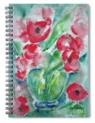Poppies Celebration Spiral Notebook