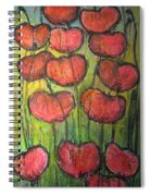 Poppies In Oil Spiral Notebook