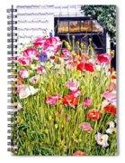 Poppies On Niagara Street Spiral Notebook