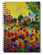 Poppies Sosoye Spiral Notebook