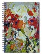 Poppies Spiral Notebook