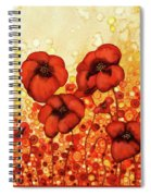 Poppin Poppies #2 Spiral Notebook