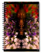 Popping Flowers Spiral Notebook