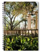 Popp's Fountain Spiral Notebook