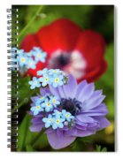 Poppy And Friends Spiral Notebook