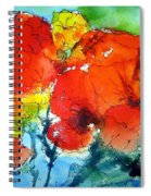 Poppy Bouquet Spiral Notebook