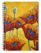 Poppy Craze By Prankearts Spiral Notebook