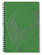 Poppy Embossing  Spiral Notebook