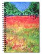 Poppy Field II Spiral Notebook