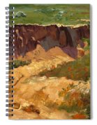 Poppy Gorge Spiral Notebook