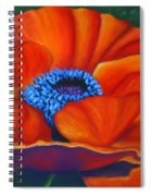 Poppy Pleasure Spiral Notebook