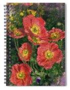 Poppy Portrait Spiral Notebook