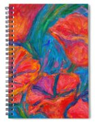 Poppy Twirl Spiral Notebook