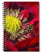 Poppy Visited Part II Spiral Notebook