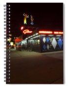 Popular Chicago Hot Dog Stand Night Spiral Notebook