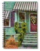 Porch - Westfield Nj - Welcome Friends Spiral Notebook