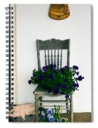 Porch Flowers Spiral Notebook