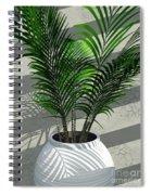 Porch Plant Spiral Notebook