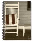 Porch Rocker Spiral Notebook