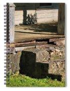 Porch Stoop Spiral Notebook