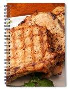 Pork Chop. Spiral Notebook