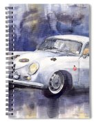 Porsche 356 Coupe Spiral Notebook
