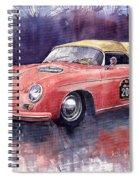 Porsche 356 Speedster Mille Miglia Spiral Notebook